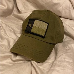 Patch Texas Olive Color Hat